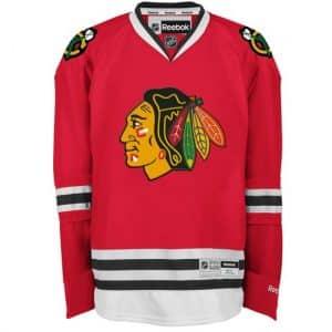 Chicago Blackhawks Adult Reebok Premier Home Jersey