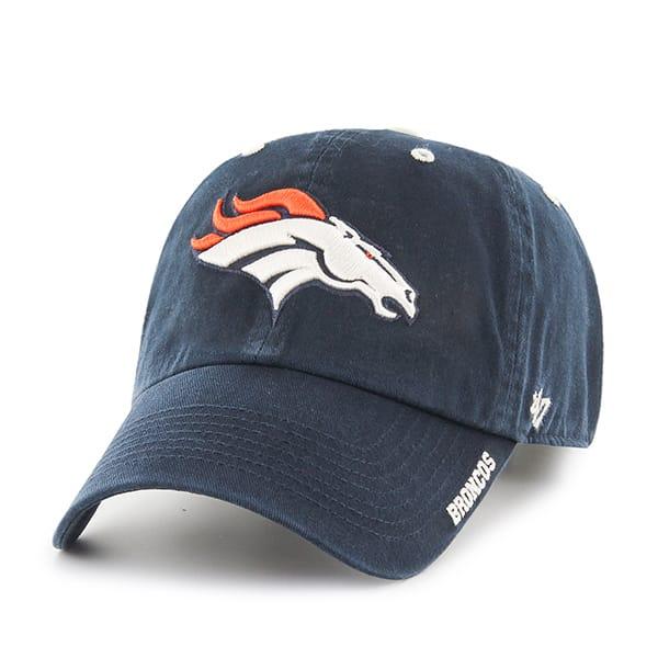 Denver Broncos 47 Brand Navy Ice Adjustable Hat