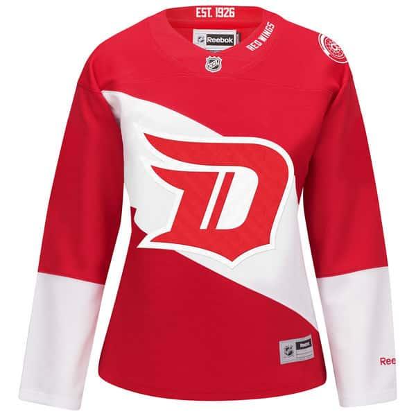 Detroit Red Wings Womens Stadium Series Jersey