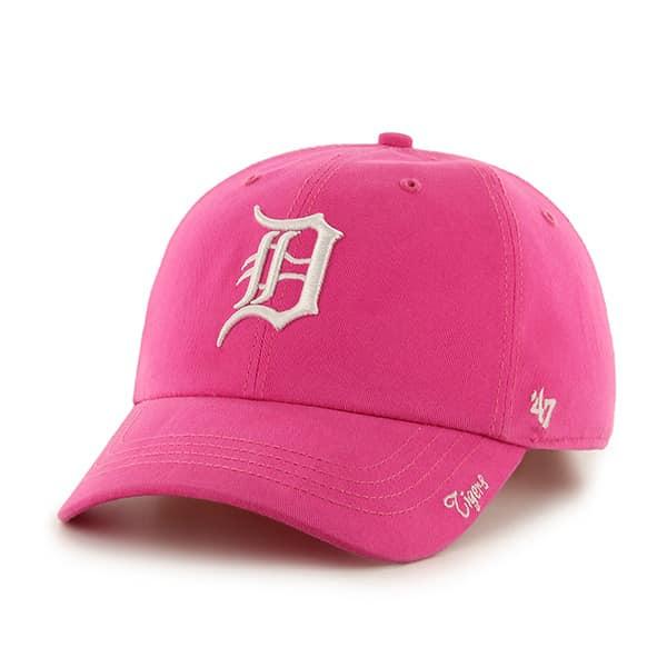 Detroit Tigers Women's 47 Brand Pink Miata Clean Up Adjustable Hat