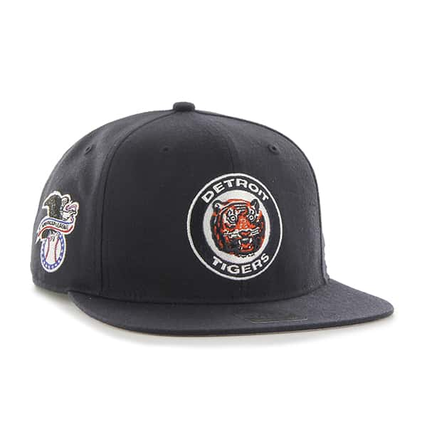 Detroit Tigers 47 Brand Cooperstown Classic Snapback Adjustable Hat Alt