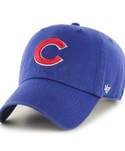 Chicago Cubs 47 Brand Clean Up Adjustable Hat