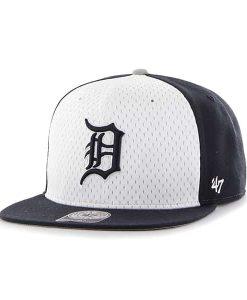 Detroit Tigers 47 Brand Navy Backboard Snapback Adjustable Hat