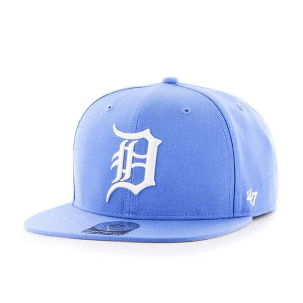 Detroit Tigers Blue Raz Sure Shot Snapback Adjustable Hat