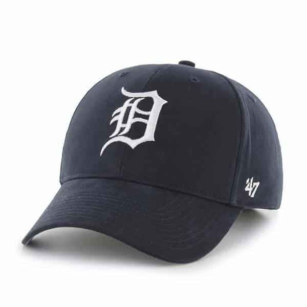 Detroit Tigers 47 Brand Boys TODDLER Home Navy Adjustable Hat