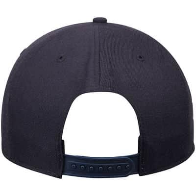 Detroit Tigers Navy Sure Shot Snapback Adjustable Hat Back