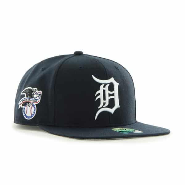 Detroit Tigers 47 Brand Sure Shot Snapback Hat
