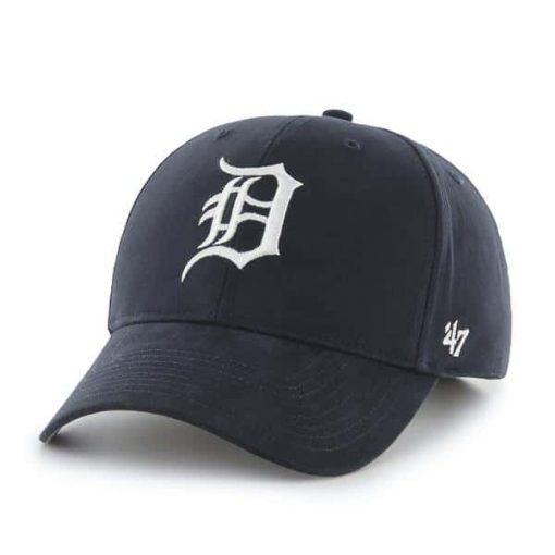 Detroit Tigers YOUTH 47 Brand Navy MVP Adjustable Hat