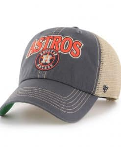 Houston Astros 47 Brand Tuscaloosa Vintage Navy Clean Up Adjustable Hat