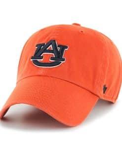 Auburn Tigers 47 Brand Orange Clean Up Adjustable Hat