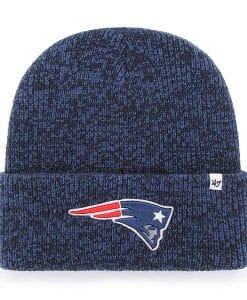 New England Patriots 47 Brand Navy Brain Freeze Cuff Knit Hat