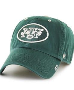 New York Jets 47 Brand Dark Green Ice Clean Up Adjustable Hat