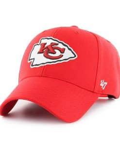 Kansas City Chiefs 47 Brand Torch Red MVP Adjustable Hat