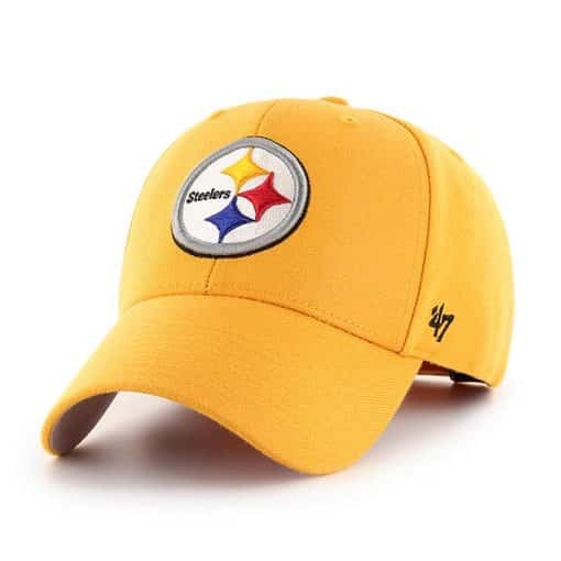 Pittsburgh Steelers 47 Brand Yellow Gold MVP Adjustable Hat