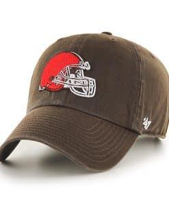 Cleveland Browns 47 Brand Brown Clean Up Adjustable Hat