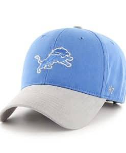 Detroit Lions INFANT 47 Brand Blue Raz Gray MVP Adjustable Hat