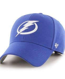 Tampa Bay Lightning 47 Brand Blue MVP Adjustable Hat