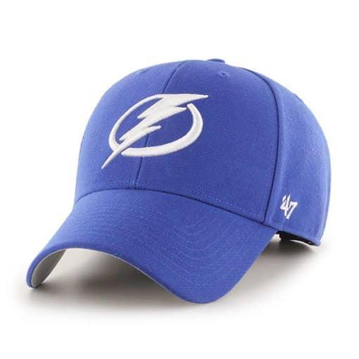 Tampa Bay Lightning 47 Brand Blue MVP Adjustable Hat