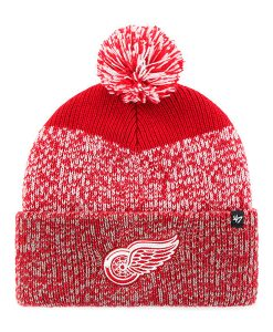 Detroit Red Wings 47 Brand Red Static Cuff Knit Hat