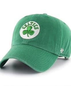 Boston Celtics 47 Brand Green Clean Up Adjustable Hat