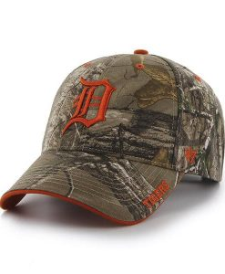 Detroit Tigers 47 Brand Realtree Camo MVP Adjustable Hat
