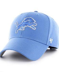 Detroit Lions MVP Blue Raz 47 Brand Adjustable Hat