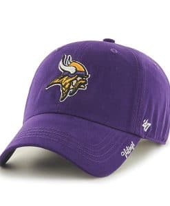 Minnesota Vikings Women's Purple Miata 47 Brand Adjustable Hat