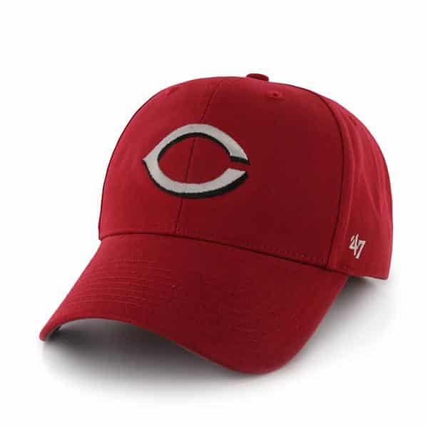 Cincinnati Reds Basic MVP Home 47 Brand KID Hat