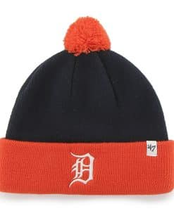 Detroit Tigers Bam Bam Cuff Knit Navy 47 Brand TODDLER Hat