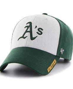 Oakland Athletics Beta MVP Dark Green 47 Brand Adjustable Hat