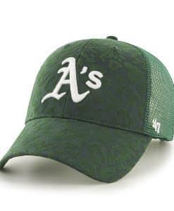 Oakland Athletics Billie MVP Dark Green 47 Brand Womens Hat