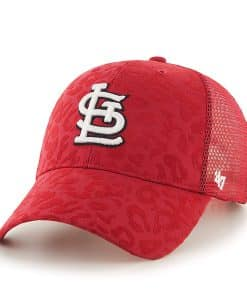 St. Louis Cardinals Billie MVP Red 47 Brand Womens Hat