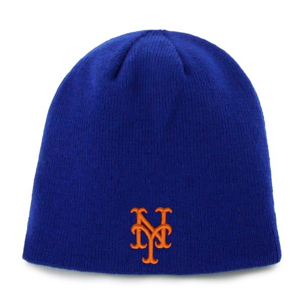 New York Mets INFANT 47 Brand Blue Baby Beanie Hat
