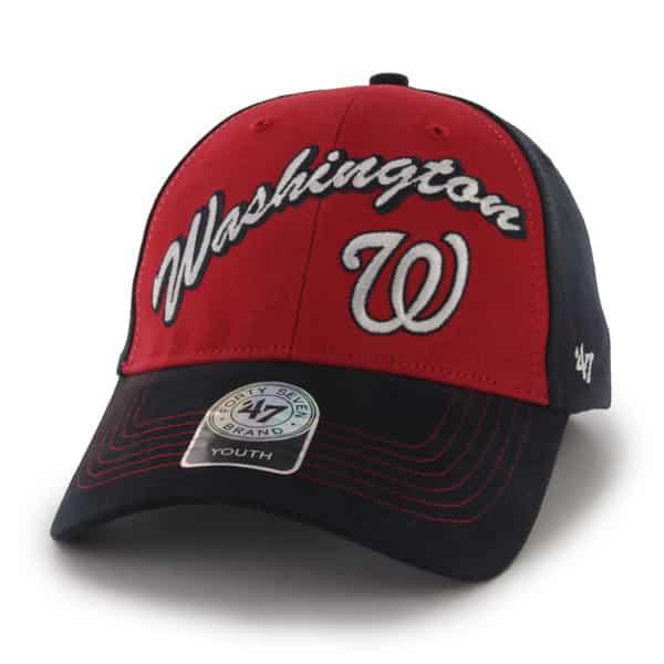 Washington Nationals Bruiser Navy 47 Brand KID Hat
