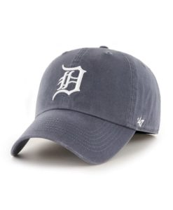 Detroit Tigers 47 Brand Home Vintage Navy Franchise Fitted Hat