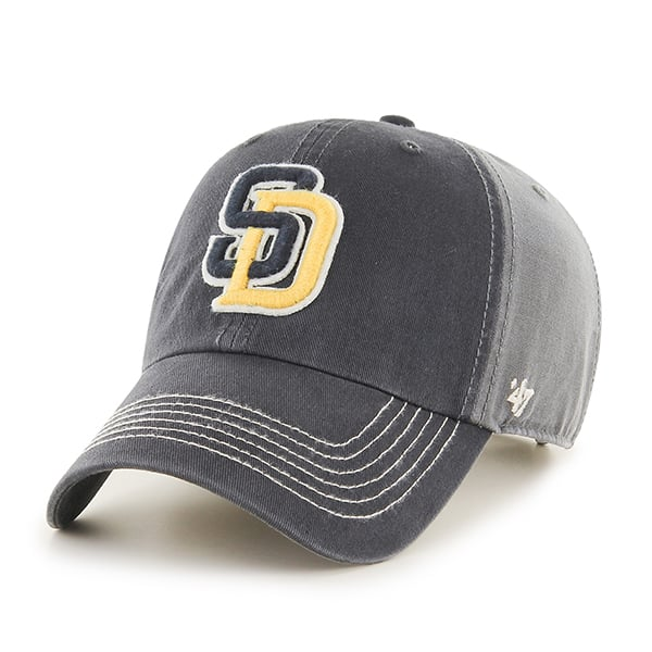 San Diego Padres Cronin Clean Up Charcoal 47 Brand Adjustable Hat