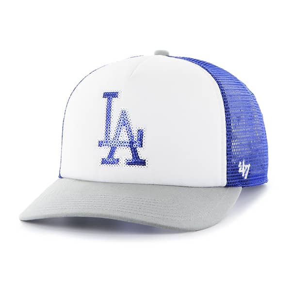 Los Angeles Dodgers Glimmer Captain Cf Royal 47 Brand Womens Hat
