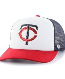 Minnesota Twins Glimmer Captain Cf Navy 47 Brand Womens Hat