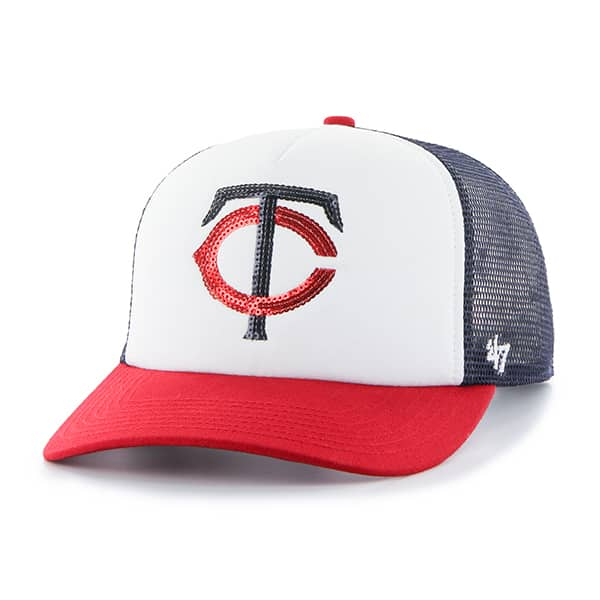 Minnesota Twins Glimmer Captain Cf Navy 47 Brand Womens Hat