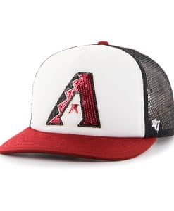 Arizona Diamondbacks Glimmer Captain Cf Black 47 Brand Womens Hat