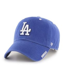 Los Angeles Dodgers 47 Brand Ice Blue Clean Up Adjustable Hat
