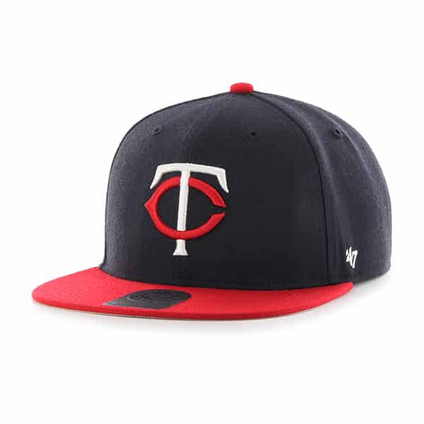 Minnesota Twins Lil Shot Two Tone Captain Navy 47 Brand YOUTH Hat