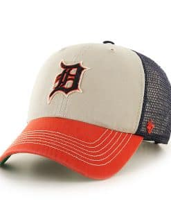 Detroit Tigers Mcnally Clean Up Navy 47 Brand Adjustable Hat