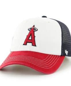 Los Angeles Angels Mckinley Closer Navy 47 Brand Stretch Fit Hat