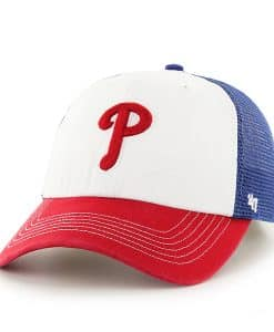 Philadelphia Phillies Mckinley Closer Royal 47 Brand Stretch Fit Hat
