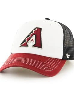 Arizona Diamondbacks Mckinley Closer Black 47 Brand Stretch Fit Hat