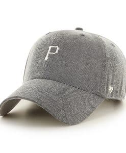 Pittsburgh Pirates Monument Salute Clean Up Gray 47 Brand Adjustable Hat