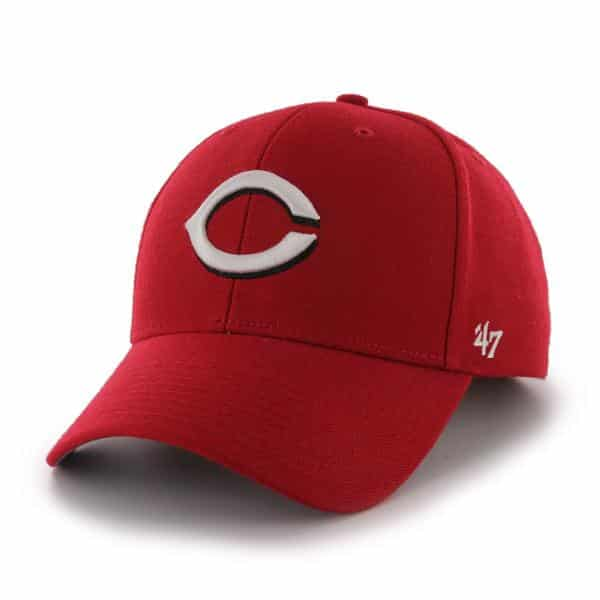Cincinnati Reds MVP Home 47 Brand Adjustable Hat