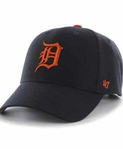 Detroit Tigers 47 Brand MVP Navy Road Adjustable Hat