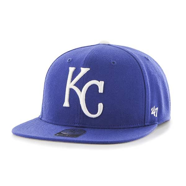 Kansas City Royals No Shot Captain Royal 47 Brand YOUTH Hat